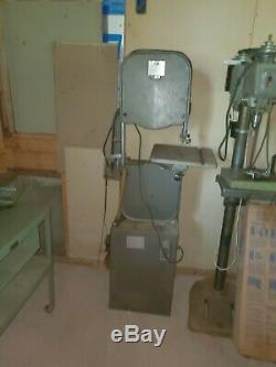 14 Vertical Wood Bandsaw Woodworking Power Tools