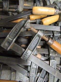 19 Vintage Hartford Clamp Co. Bar Clamp 2GC F Clamps Woodworking Tools 26.5