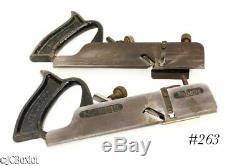 2 carpenter woodworking planes STANLEY 39 DADO tools
