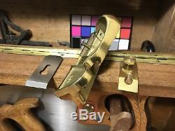 3 Tool Lot Minty Lie Nielsen Edge Plane, Keen Kutter Caliper & Rule Woodwork