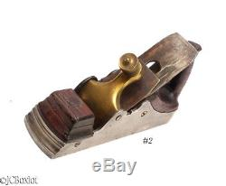 Antique 9 1/2 x 2 cutter INFILL WOODWORKING PLANE english scottish
