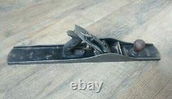 Antique Bailey Stanley Smooth Bottom Wood Plane No. 8 Woodworking Tools 24