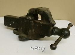 Antique Emmert Mfg Co #39 Tiger Vise Woodworking Machinist Waynesboro Pa
