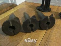 Antique Hollow Auger Tenon Cutter Spoke Pointer Set Lumberjack Woodworking Tools