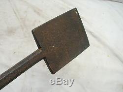 Antique Iron Siding Slick Chisel Wood Working Tool Blacksmith Hand Forged Lumber