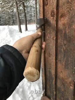 Antique Large 3 1/2DR BARTON Woodworking Slick Timber Framing Chisel NO RESV