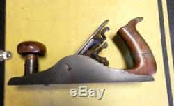 Antique Metallic plane co, wood working plane early pat may 14, 1867
