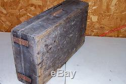 Antique Nail Sorter Carpenters Box Crate Makers Old Vintage Woodworking Tool