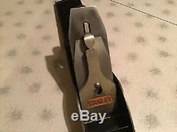 Antique STANLEY BAILEY NO. 8 Smooth Bottom 24 Wood Plane Woodworking Hand Tool