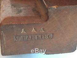 Antique Sash Fillister Plane W. Hamling Woodworking Home