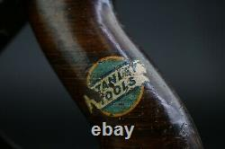 Antique Stanley Bailey No. 8 Wood Plane Woodworking Hand Tool Garage Collectible
