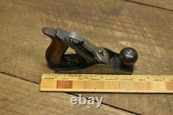 Antique Stanley No. 1 Small Smoothing Plane Woodworking Tool 1892 Patent Date