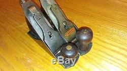Antique Stanley No 2 C Corrugated Bottom Woodworking Plane Vintage Tool