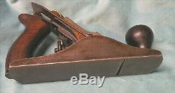 Antique Stanley No. 2 Smoothing Plane Carpentry Woodwork SW Sweetheart Logo