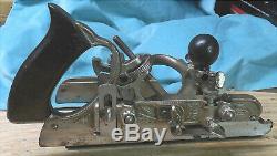 Antique Stanley No. 45 Combination Molding Plane Carpenter Woodworker Collector