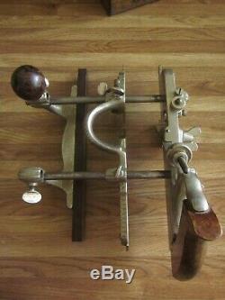 Antique Stanley No. 45 Combination Plane Vintage Woodworking Carpentry Tools