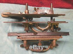 Antique Stanley No. 55 Combination Plane Dado Rabbet Molding Carpentry Woodwork