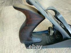 Antique Stanley R&L. Co Bed Rock Wood Plane No. 604 Corrugated Bottom Woodworking