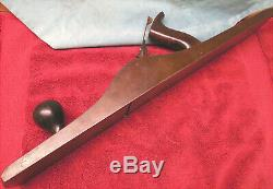 Antique Stanley Rule Level No. 7 Jointer Plane Carpentry Woodwork Pre-WW2 Notch