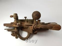 Antique Stanley Wards Trade Mark 45 Woodworking Combination Plough Plane Tool