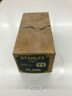 Antique Tools STANLEY ROUTER Plane 71 Woodworking Carpentry VINTAGE Tools USA