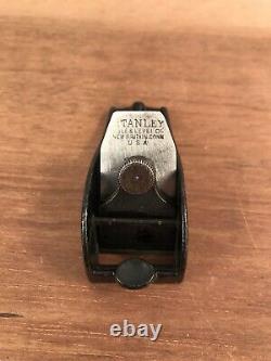 Antique Very Rare Stanley 101 1/2 Bull Nose Block Plane Woodwork Tool
