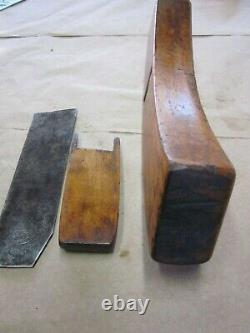 Antique Vintage Cherry 1837 Coopers Sun Woodworking Barrel Makers Plane Tools