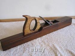 Antique Vintage Nautical Rosewood Shipwrights 21-3/4 Tool Woodworking Plane