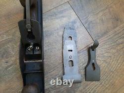 Antique Vintage Stanley Carriage Rebate Wood Plane No. 10 Woodworking Tools