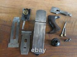 Antique Vintage Stanley No. 10-1/2 Type 8 (1899-1902) Smooth Woodworking Plane