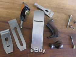 Antique Vintage Stanley No. 2 Type 15 (1931-1932) Smooth Woodworking Plane Tool