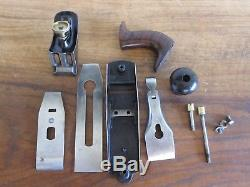 Antique Vintage Stanley No. 2 Type 2 (1869-1872) Pre-Lateral Woodworking Plane