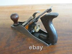 Antique Vintage Stanley No. 3 Type 15 (1931-1932) Smooth Woodworking Plane Tool