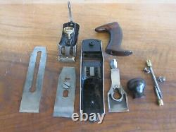 Antique Vintage Stanley No. 3 Type 6 (1888-1892) Smooth Woodworking Tool Plane