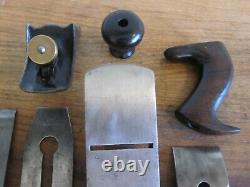 Antique Vintage Stanley No. 4 TYPE 2 (1869-1872) Pre-Lateral Woodworking Plane