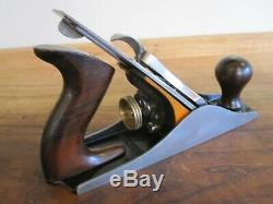 Antique Vintage Stanley No. 4 Type 15 (1931-1932) Smooth Woodworking Plane Tool