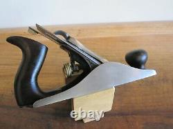 Antique Vintage Stanley No. 4 Type 6 (1888-1892) Smooth Woodworking Plane Tool