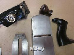 Antique Vintage Stanley No. 4 Type 6 (1888-1892) Smooth Woodworking Plane Tools