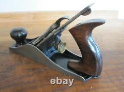 Antique Vintage Stanley No. 4 Type 7 S (1893-1899) Smooth Woodworking Plane