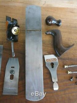 Antique Vintage Stanley No. 5 Type 15 (1931-1932) Smooth Woodworking Plane Tool
