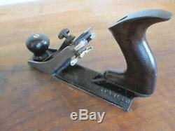 Antique Vintage Stanley No. 72 Chamfer Woodworking Plane Rosewood Tools