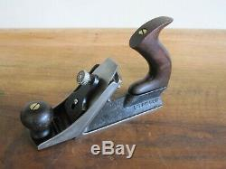Antique Vintage Stanley No. 72 Chamfer Woodworking Plane Tools