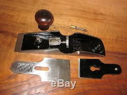 Antique Vintage Stanley No. 97 Type 2 (1907-1909) Chisel Woodworking Plane Tool