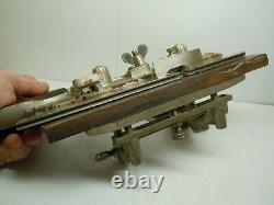 Antique Vintage Stanley Sw No. 45 Combination Plow Wood Plane Woodworking Tool