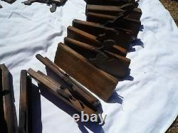 Antique Vintage Woodworking Planes Collection Of 44
