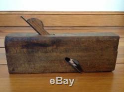 Antique Vtg Sandusky Tool Co 146 Solid Maple Woodworking Block Wood Mold Plane