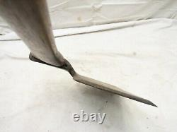 Antique Wm. Beatty & Son Broad Hewing Axe Lumber Woodworking Tool