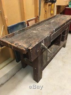 Antique Woodworkers Bench