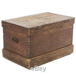 Antique fancy woodworker carpenter cabinet furniture maker tool chest 36 Wide