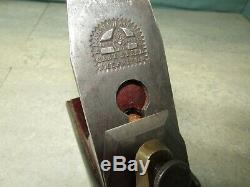 Antique infill plane. Hearnshaw Bros iron. Used woodworking tools